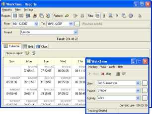 WorkTime Internet Monitoring