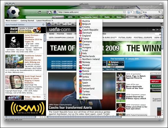 Download World Cup Soccer Internet Explorer Theme
