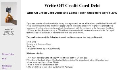 Download Write Off Credit Card Debt Legally