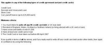 Download Write Off My Credit Card Debts