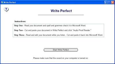 Download Write Perfect Proofreading Software