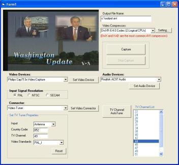 Download X360 Video Capture ActiveX Control
