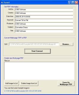 Download x360soft - Tiff to Pdf Image ActiveX SDK