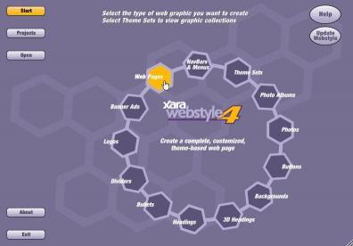 Download Xara Webstyle