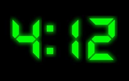 Download XClock Digital Clock Screen Saver