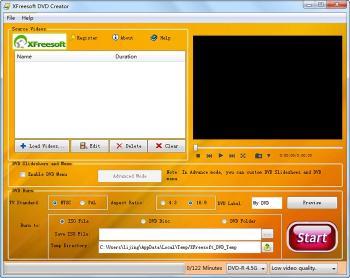 Download XFreesoft DVD Creator