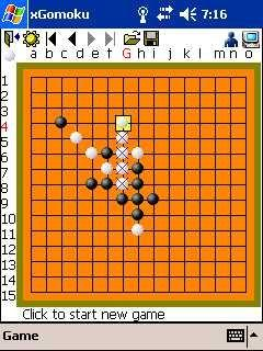 Download xGomoku for Pocket PC