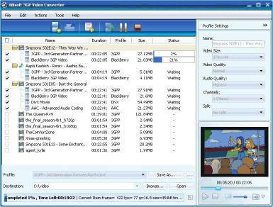 Download Xilisoft 3GP Video Converter