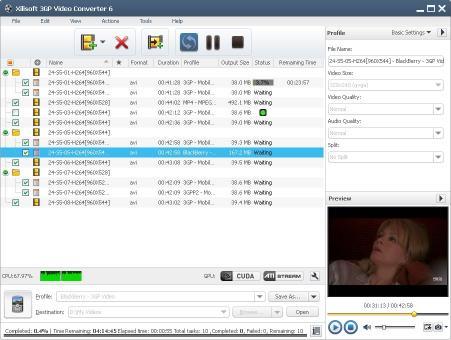 Download Xilisoft 3GP Video Converter