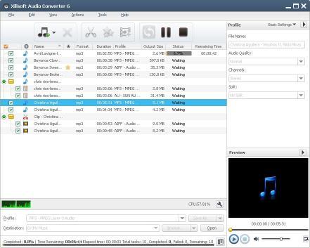 Download Xilisoft Audio Converter