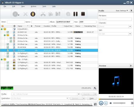 Download Xilisoft CD Ripper