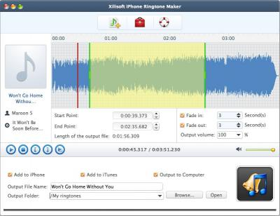 Download Xilisoft iPhone Ringtone Maker for Mac