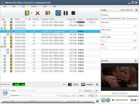 Xilisoft iPod Video Converter Downloader