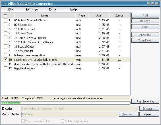 Xilisoft OGG MP3 Converter - standaloneinstaller.com