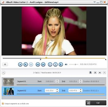 Download Xilisoft Video Cutter