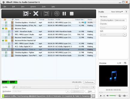 Download Xilisoft Video to Audio Converter