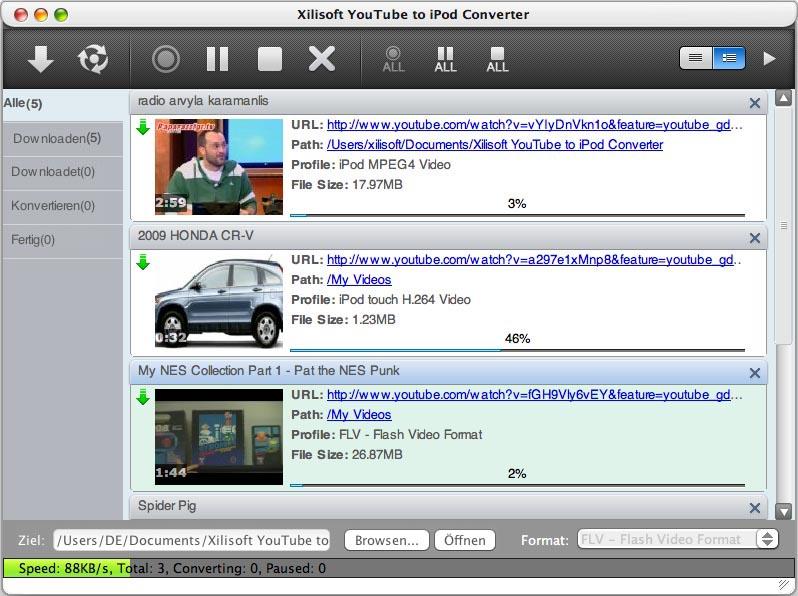 Xilisoft Youtube To Ipod Converter For Mac