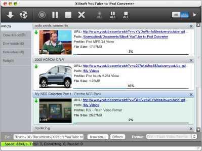 Xilisoft YouTube to iPod Converter Mac