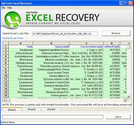 Download XLS Recovery Tool