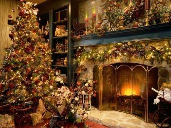 Download Xmass Fireplace