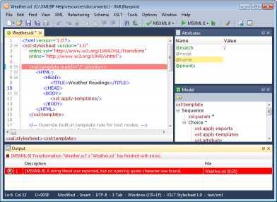 Download XMLBlueprint XML Editor