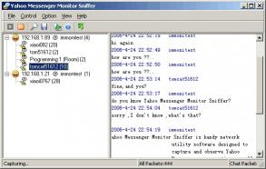 Download Yahoo Messenger Monitor Sniffer