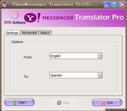 Yahoo Messenger Translator Pro