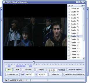 YASA DVD to iPod Converter