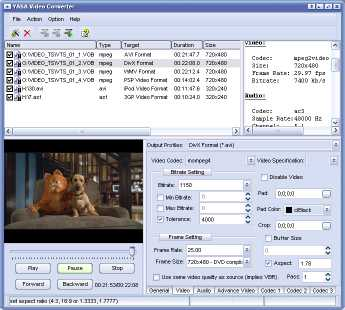 YASA Video Converter