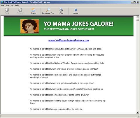 Download Yo Mama Jokes Galore