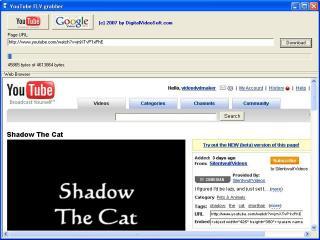 Download YouTube FLV Grabber