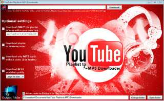 Download YouTube Playlist to MP3 Downloader