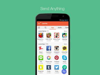 Download Zapya for Android