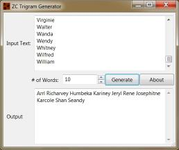 Download ZC Trigram Generator