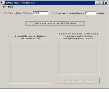 Download ZIP Code Access