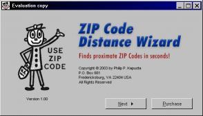 Download ZIP Code Distance Wizard