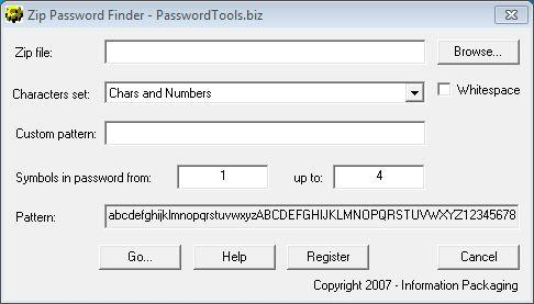 Download Zip Password Finder