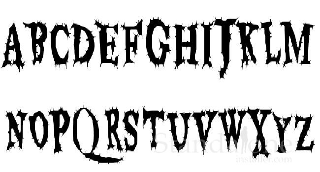 10 Best Fonts for Halloween - standaloneinstaller com