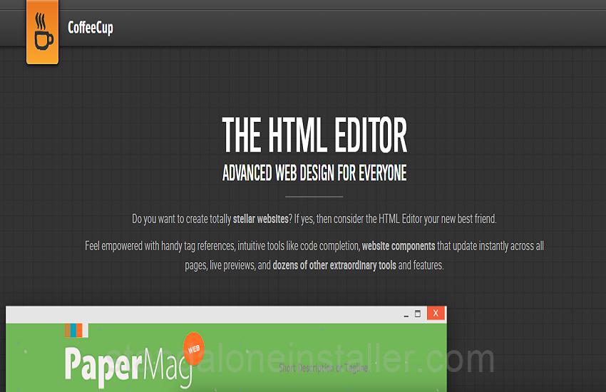 Top 15 HTML Editors - standaloneinstaller com