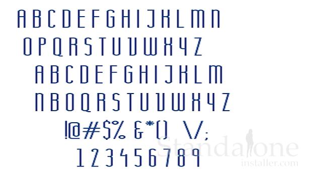 20 Modern Fonts - standaloneinstaller com
