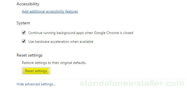 chrome-reset-settings