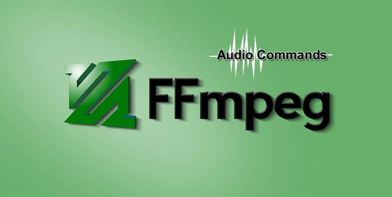 FFmpeg command list for audio conversion