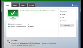 Microsoft Security Essentials Definition Update January 8