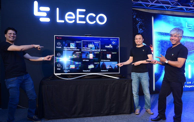 LeEco high-powered Android TVs